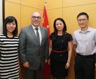Província e cidade chinesas manifestaram interesse em acordos com SC