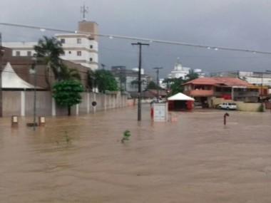 Onze municípios registram ocorrências por causa das chuvas