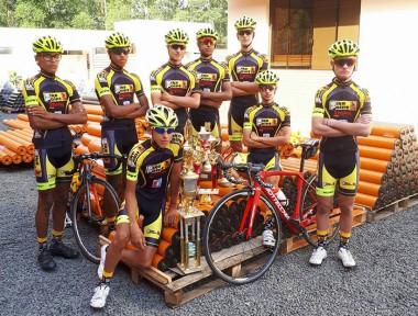 Ciclismo de Içara compete em Florianópolis