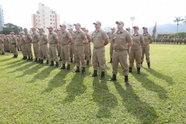 PMs contarão com câmeras instaladas nos uniformes