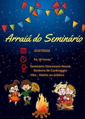 Seminário de Caravaggio promove Arraiá neste sábado