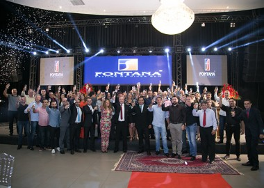 Construtora Fontana premia corretores e lança o programa