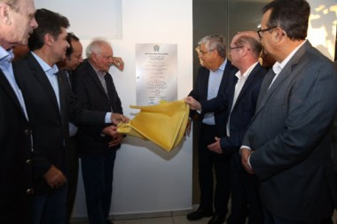 Governador participa de inauguração do CT do Criciúma