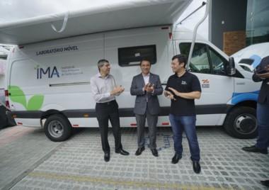 Governador Moisés inaugura Laboratório Móvel em Criciúma