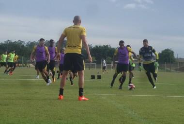 Semana inicia com treinos intensos no CT do Criciúma