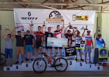 Mais quatro troféus no mountain bike para Siderópolis