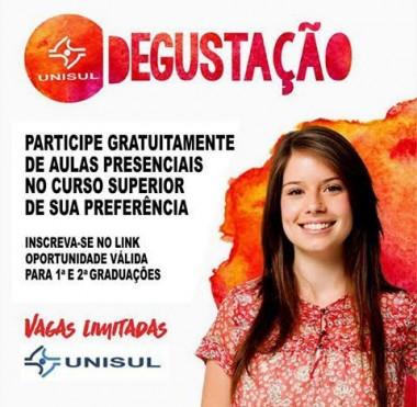 Projeto 'Degustação Unisul' abre as portas a estudantes do Ensino Médio