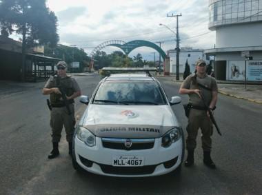 Segurança: Polícia Militar sempre presente nas ruas de Maracajá