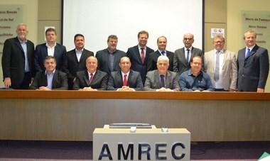 Prefeitos se desincompatibilizam da AMREC na terça