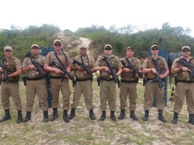 Policiais Militares do 19º BPM recebem revitalização de tiro defensivo