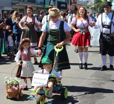 Heimatfest chega ao final com 80 mil visitantes