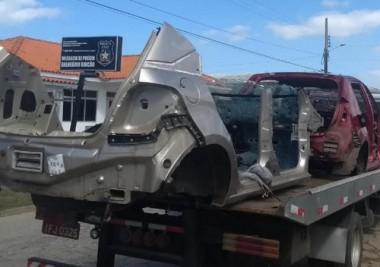 Dois homens são detidos em desmanche de veículos em Rincão