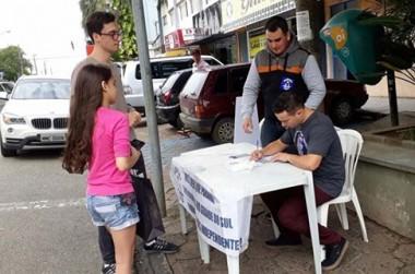 Içara teve aumento de urnas do Plebisul de 2017