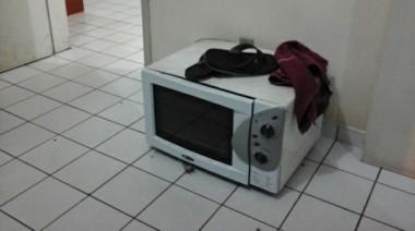 Dupla é detida pela PM de Içara com produtos furtados