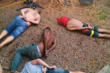 Latrocída é preso junto com quadrilha pela Polícia Civil