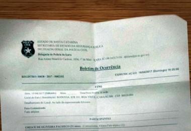 Peemedebista realiza registro de ocorrência contra vereador