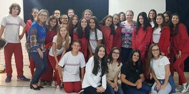 Ex-alunos do Quintino realizam aulão para Olimpíada