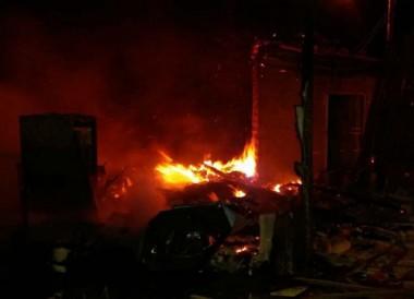 Corpo de Bombeiros de Içara atende 2 incêndios fora da cidade