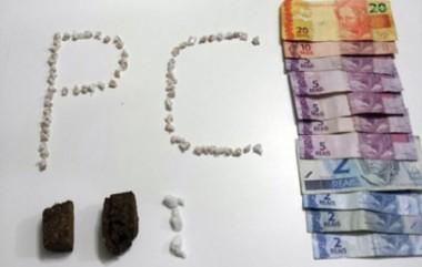 Jovem é detido por tráfico de drogas no bairro Esplanada