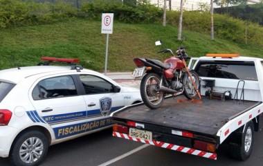 Jovem é detido com moto furtada no Presidente Vargas