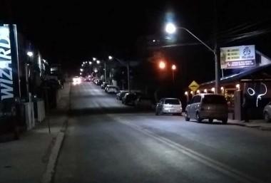 Iluminação inteligente de LED é instalada na Rua Vitória