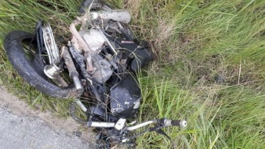 Motociclista morre após colisão na SC-445