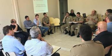 Plano de ação é elaborado para avanço na segurança pública de Içara