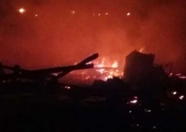 Casal perde seus pertences em incêndio no Torneiro
