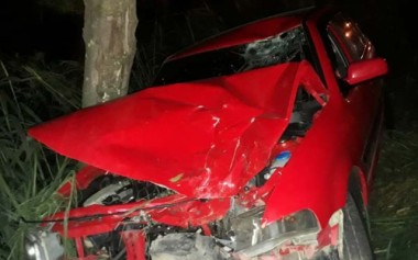 Casal de moto é atingido por condutor embriagado