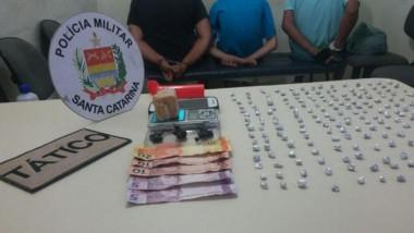 Adolescente de 16 anos é detido por tráfico em Balneário Rincão