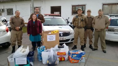 Grupo de Militares Evangélicos de Santa Catarina realizam nova Campanha do Agasalho