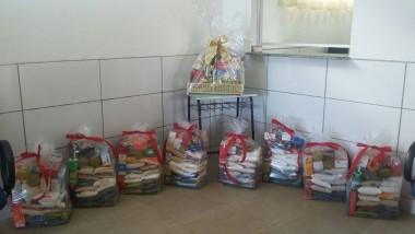 Alunos e direção da Escola Paulo Rizzieri vão doar cestas básicas