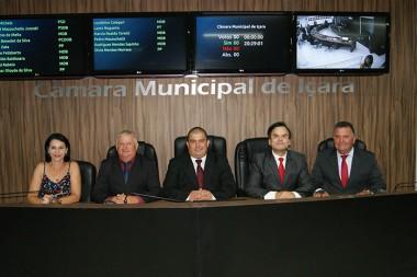 Câmara Municipal de Içara inicia os trabalhos legislativos nesta segunda