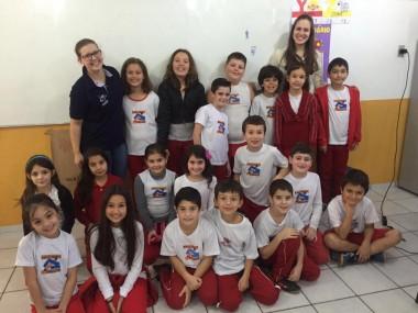 Alunos da Escola Zanellato aprendem sobre nutrientes