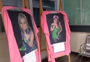 Hospital São Donato recebe exposição Pétalas da Vida