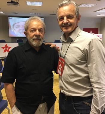 Dresch discute com Lula estratégia do PT para SC