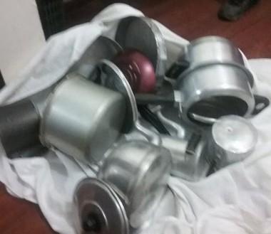 PM de Balneário Arroio do Silva prende homens por furto e recupera objetos
