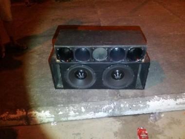 PM de Araranguá apreende aparelhagem de som