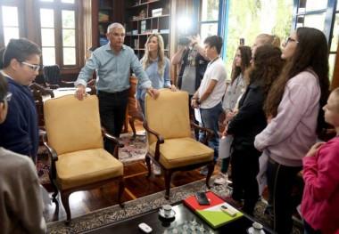 Casa d'Agronômica é aberta oficialmente à visitação de alunos