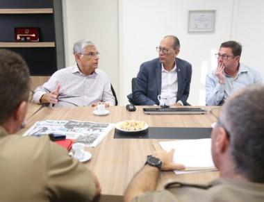 Moreira destaca trabalho da segurança com redução na violência