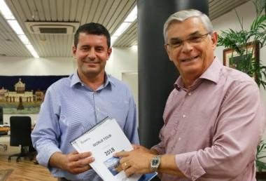 Moreira anuncia Tufi Michreff Neto na Secretaria de Turismo