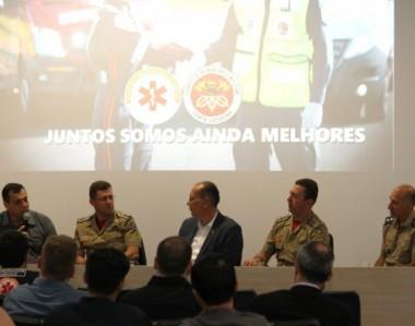 Integração do atendimento pré-hospitalar entre Bombeiros e Samu avança