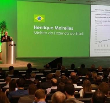 Ministro da Fazenda fala da retomada do crescimento econômico no país