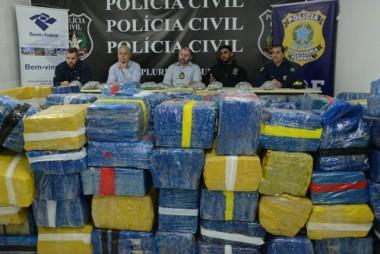 Polícia Civil realiza apreensão de drogas histórica em SC