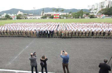 Polícia Militar de SC dá início à formação de 950 novos soldados