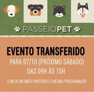 Evento pet no Passeio San Miguel é transferido para dia 7