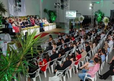Turma do Terceirão da Satc em Turvo celebra formatura