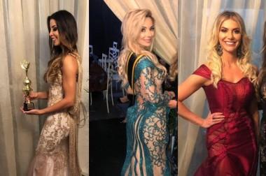 Chy Fashion Ateliê fatura prêmio de melhor traje no Miss SC