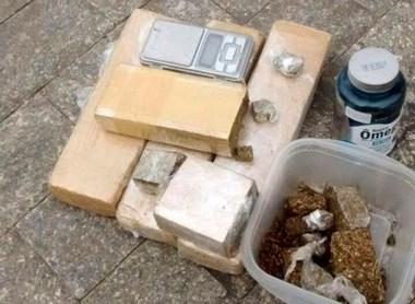 PM apreende grande quantidade de drogas em Balneário Rincão