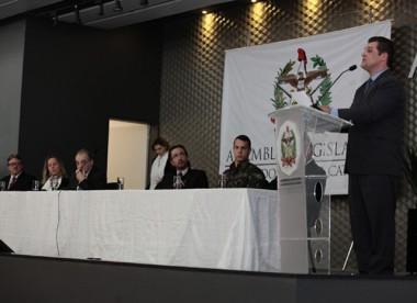 Deputado Cleiton Salvaro homenageia Desbravadores do Carvão